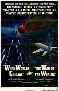 When Worlds Collide / War of the Worlds Combo - 11 x 17 Movie Poster - Style A