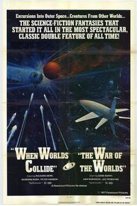 When Worlds Collide / War of the Worlds Combo - 27 x 40 Movie Poster - Style A