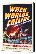 When Worlds Collide - 27 x 40 Movie Poster - Style A - Museum Wrapped Canvas