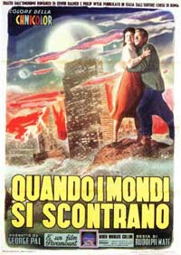 When Worlds Collide - 11 x 17 Movie Poster - Italian Style A
