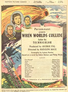 When Worlds Collide - 11 x 17 Movie Poster - Style E