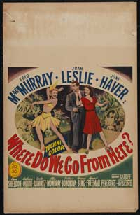 Where Do We Go from Here? - 14 x 22 Movie Poster - Style A