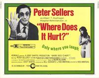 Where Does It Hurt - 11 x 14 Movie Poster - Style A