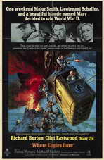 Where Eagles Dare - 11 x 17 Movie Poster - Style A