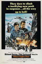 Where Eagles Dare - 27 x 40 Movie Poster - Style D