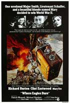 Where Eagles Dare - 27 x 40 Movie Poster - Style E