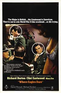 Where Eagles Dare - 43 x 62 Movie Poster - Bus Shelter Style C