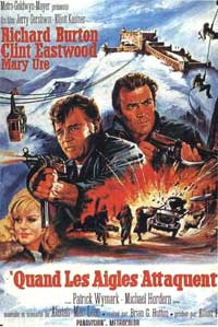 Where Eagles Dare - 11 x 17 Movie Poster - French Style A