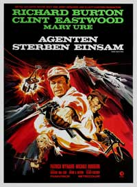 Where Eagles Dare - 11 x 17 Movie Poster - German Style A