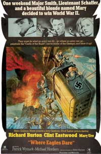 Where Eagles Dare - 11 x 17 Movie Poster - Style E