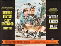 Where Eagles Dare - 30 x 40 Movie Poster UK - Style A