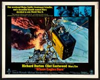 Where Eagles Dare - 22 x 28 Movie Poster - Half Sheet Style A