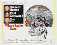 Where Eagles Dare - 22 x 28 Movie Poster - Style C
