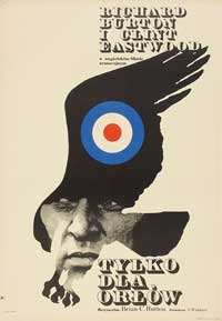 Where Eagles Dare - 11 x 17 Movie Poster - Polish Style A