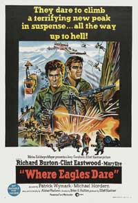 Where Eagles Dare - 11 x 17 Movie Poster - Australian Style A