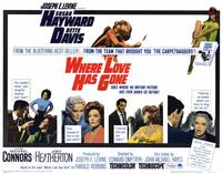 Where Love Has Gone - 11 x 14 Movie Poster - Style I