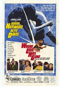 Where Love Has Gone - 27 x 40 Movie Poster - Style A