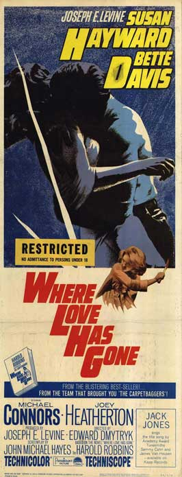 Where Love Has Gone - 14 x 36 Movie Poster - Insert Style A