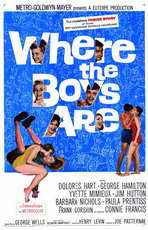 Where the Boys Are - 11 x 17 Movie Poster - Style A