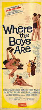 Where the Boys Are - 14 x 36 Movie Poster - Insert Style A