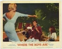Where the Boys Are - 11 x 14 Movie Poster - Style E