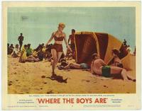 Where the Boys Are - 11 x 14 Movie Poster - Style H