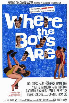 Where the Boys Are - 27 x 40 Movie Poster - Style A