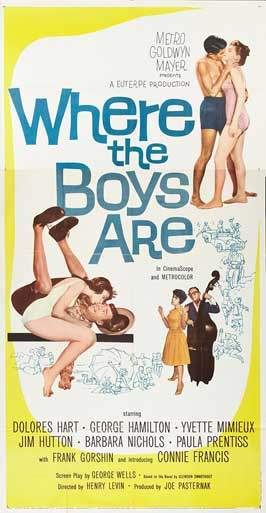 Where the Boys Are - 20 x 40 Movie Poster - Style A