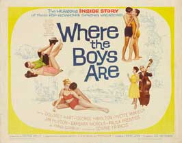 Where the Boys Are - 11 x 14 Movie Poster - Style I