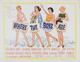 Where the Boys Are - 11 x 14 Movie Poster - Style J