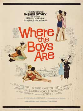 Where the Boys Are - 11 x 14 Movie Poster - Style K