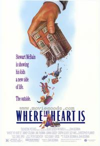 Where the Heart Is - 11 x 17 Movie Poster - Style A