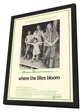 Where the Lilies Bloom - 11 x 17 Movie Poster - Style A - in Deluxe Wood Frame