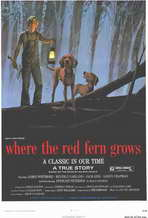 Where the Red Fern Grows - 11 x 17 Movie Poster - Style A
