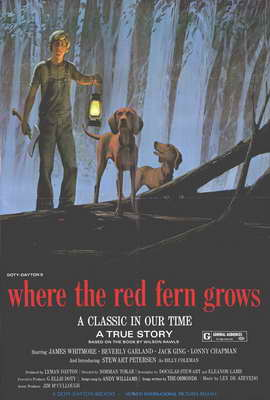 Where the Red Fern Grows - 27 x 40 Movie Poster - Style A