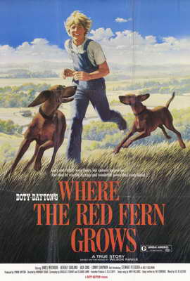 Where the Red Fern Grows - 11 x 17 Movie Poster - Style B