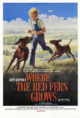 Where the Red Fern Grows - 27 x 40 Movie Poster - Style B