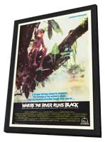Where the River Runs Black - 27 x 40 Movie Poster - Style B - in Deluxe Wood Frame