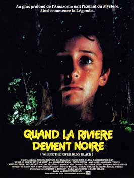 Where the River Runs Black - 11 x 17 Movie Poster - French Style A