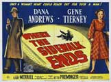 Where the Sidewalk Ends - 11 x 14 Movie Poster - Style B