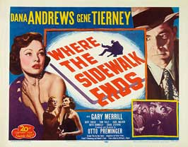 Where the Sidewalk Ends - 11 x 14 Movie Poster - Style C