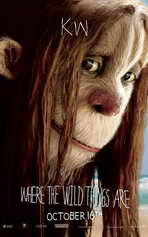 Where the Wild Things Are - 11 x 17 Movie Poster - Lauren Ambrose [KW]