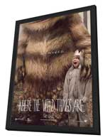 Where the Wild Things Are - 11 x 17 Movie Poster - Style A - in Deluxe Wood Frame