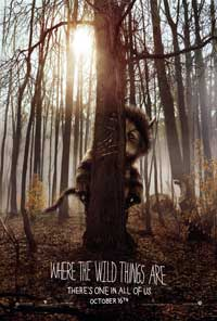 Where the Wild Things Are - 43 x 62 Movie Poster - Bus Shelter Style A