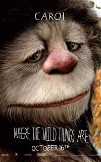Where the Wild Things Are - 11 x 17 Movie Poster - James Gandolfini [Carol]