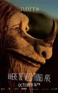 Where the Wild Things Are - 11 x 17 Movie Poster - Catherine O'Hara [Judith]