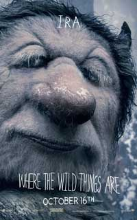 Where the Wild Things Are - 27 x 40 Movie Poster - Forest Whitaker [Ira]