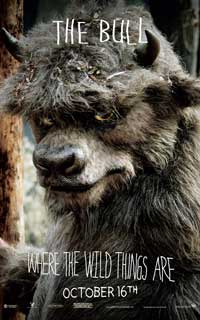 Where the Wild Things Are - 27 x 40 Movie Poster - Michael Berry Jr. [The Bull]
