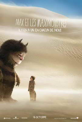 Where the Wild Things Are - 27 x 40 Movie Poster - French Style B
