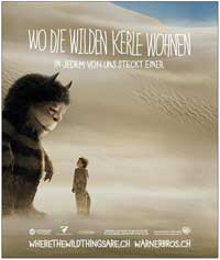 Where the Wild Things Are - 11 x 17 Movie Poster - Swiss Style C